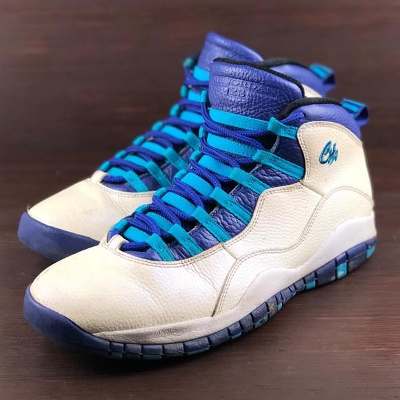 b96ea8609b0dca Jordan Other - Nike Air Jordan Retro 10 X Charlotte Hornets